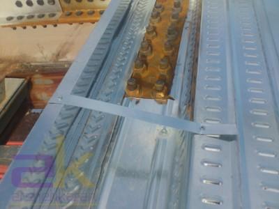 روش اجرای دوربندی ( فلاشینگ ) و ایجاد بازشو در سقف عرشه فولادی