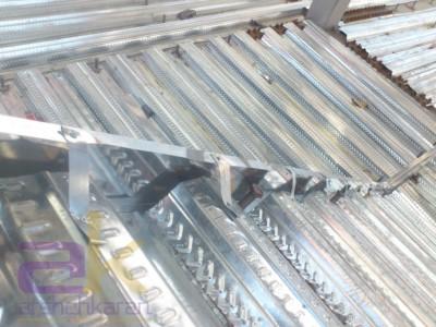 دوربندی لبه های سقف عرشه فولادی