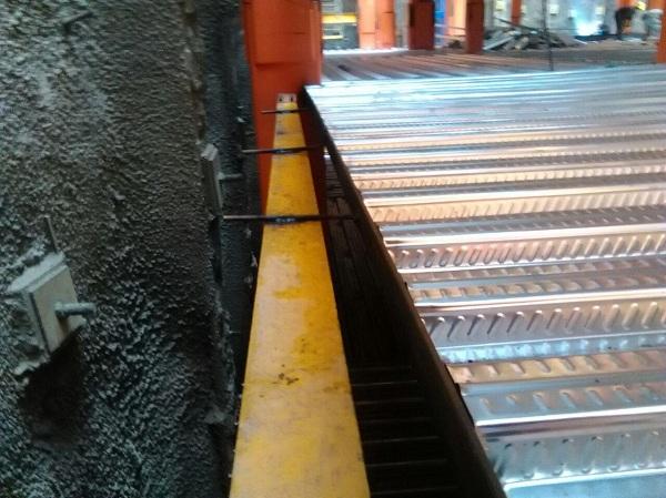 بتن سقف عرشه فولادی
