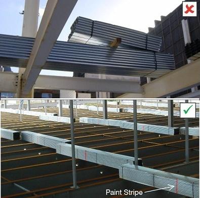 نکات فنی در خصوص اجرایی سقف عرشه فولادی