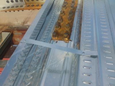 نحوه اجرای فلاشینگ ( دوربند ) و همچنین روش ایجاد بازشو در سقف عرشه فولادی