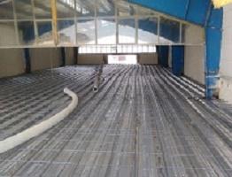 طراحی و اجرای اسکلت ، فونداسیون و سقف عرشه فولادی