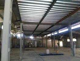طراحی اجرای فونداسیون و عرشه فولادی