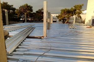 برآورد سقف عرشه فولادی