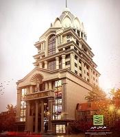 عرشه فولادی برج تجاری بین المللی رهساز گستر مهرشهر